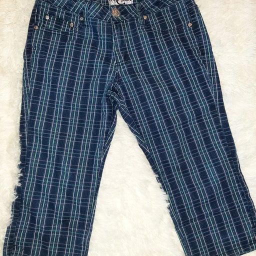 Cropped plaid Pants