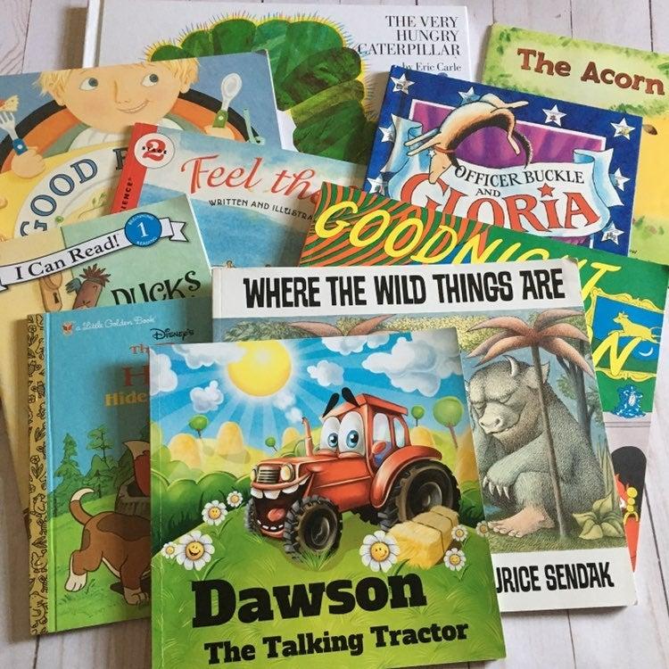 Children's book lot of 10