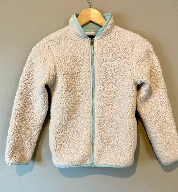 Columbia girls sherpa fleece jacket (8T)