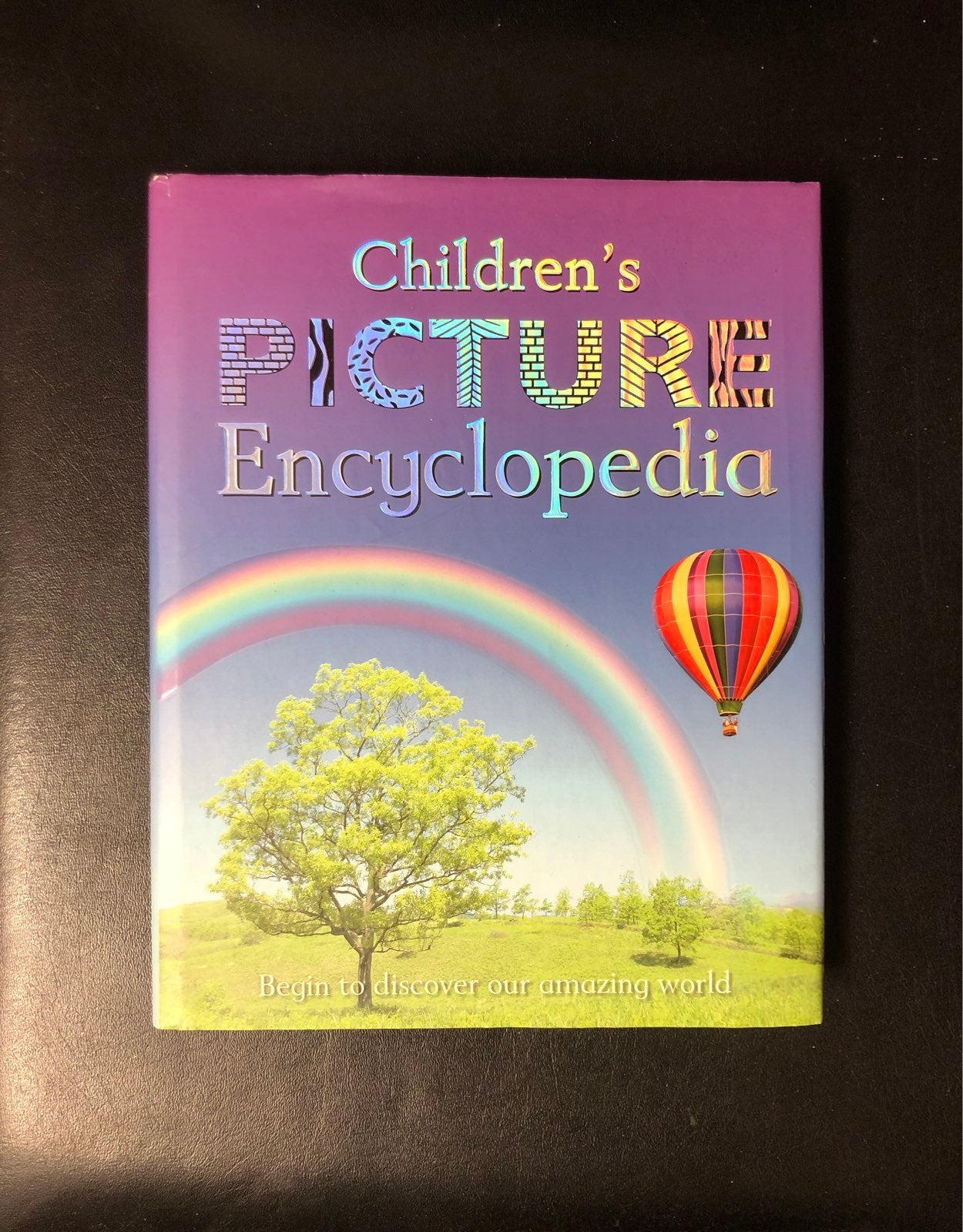 Book: Childrens Picture Encyclopedia