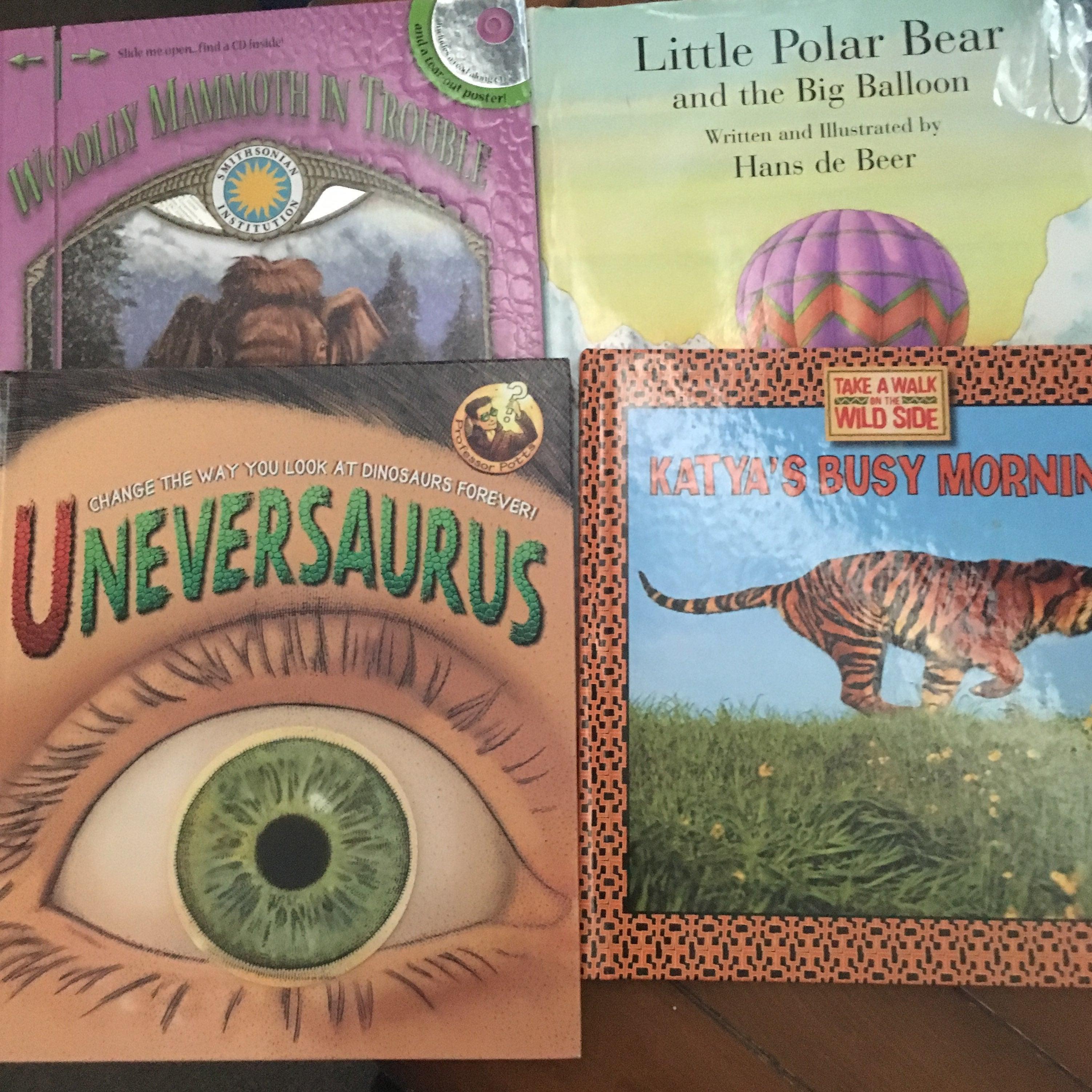 Lot of 4 Kids Books Like New