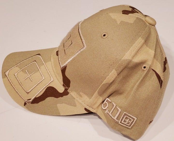 NEW! Desert Camo 5.11 Tactical Cap Hat