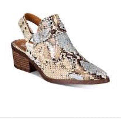 DV By Dolce Vita Womens Zoelle  Slingback Heels