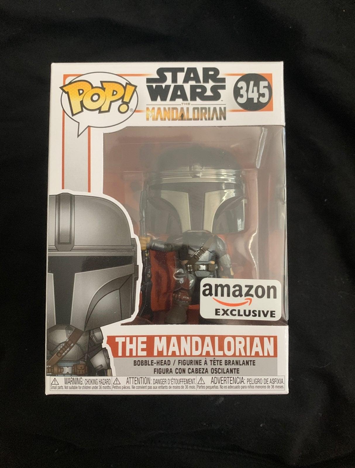The Mandalorian Chrome Amazon Exclusive
