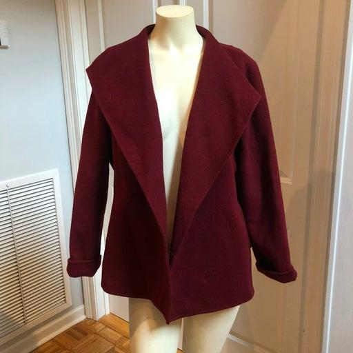 Talbots Vintage Wool Blend open Blazer