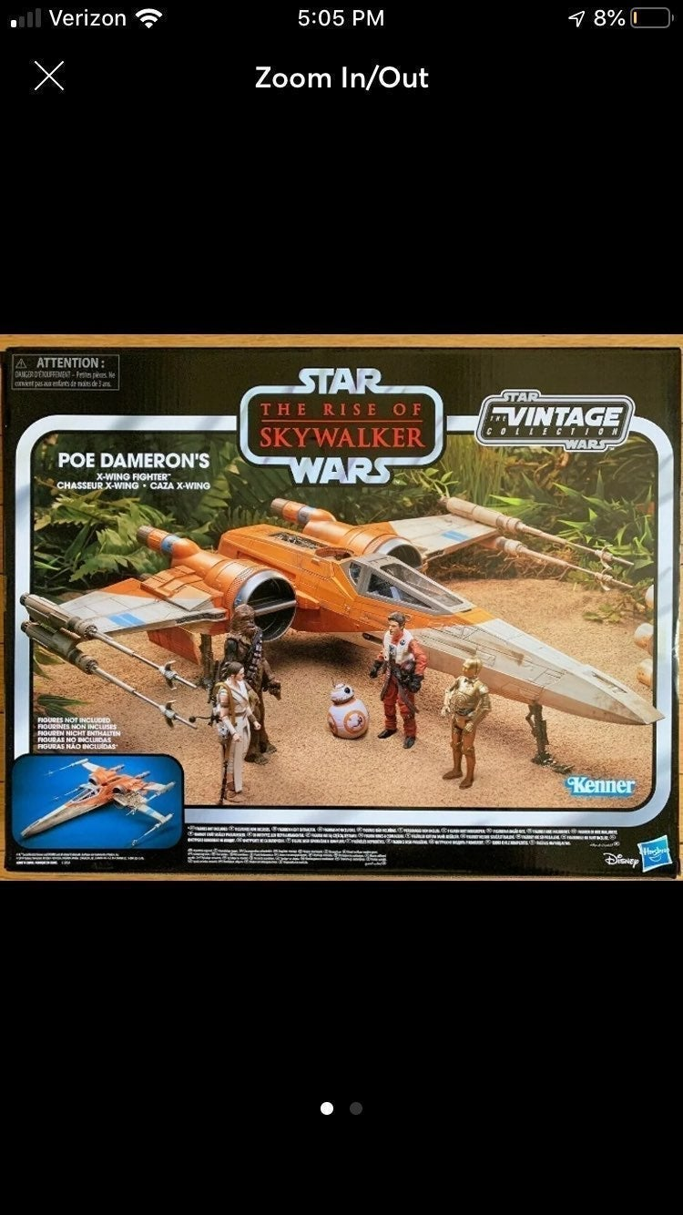 star wars vintage collection poe xwing