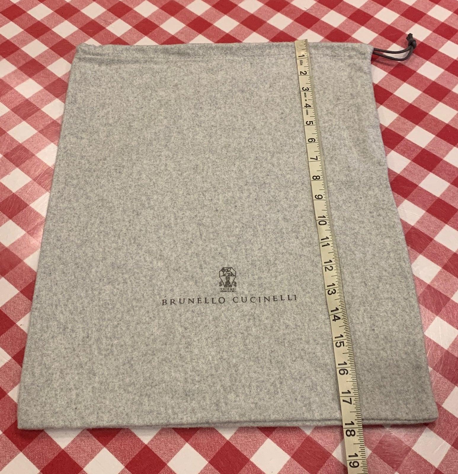 Empty Brunello Cucinelli Dustbag