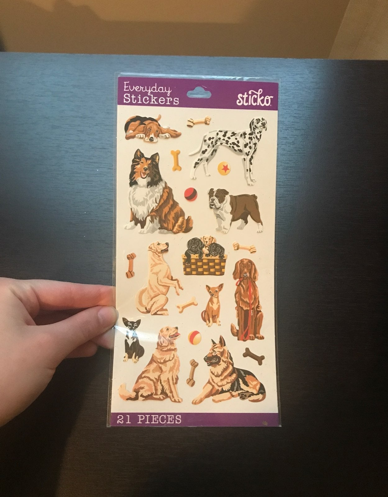Sticko 21 Dog Stickers