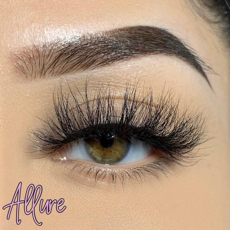 mink lashes 25mm eyelashes