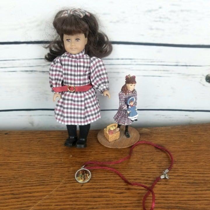 American Girl Mini Doll Figure Samantha