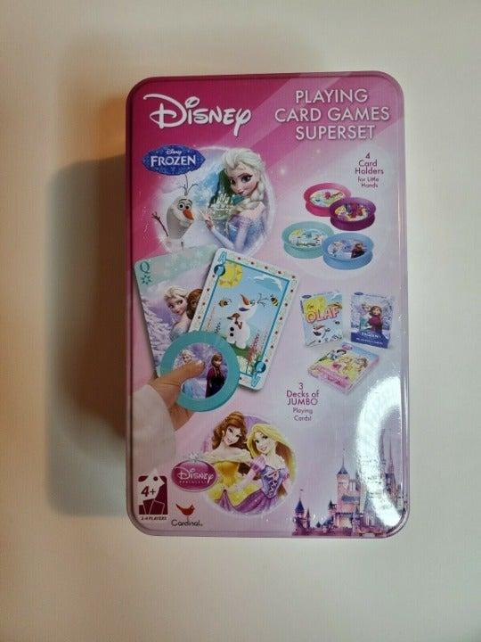 Disney Princess Frozen Playing Card Game
