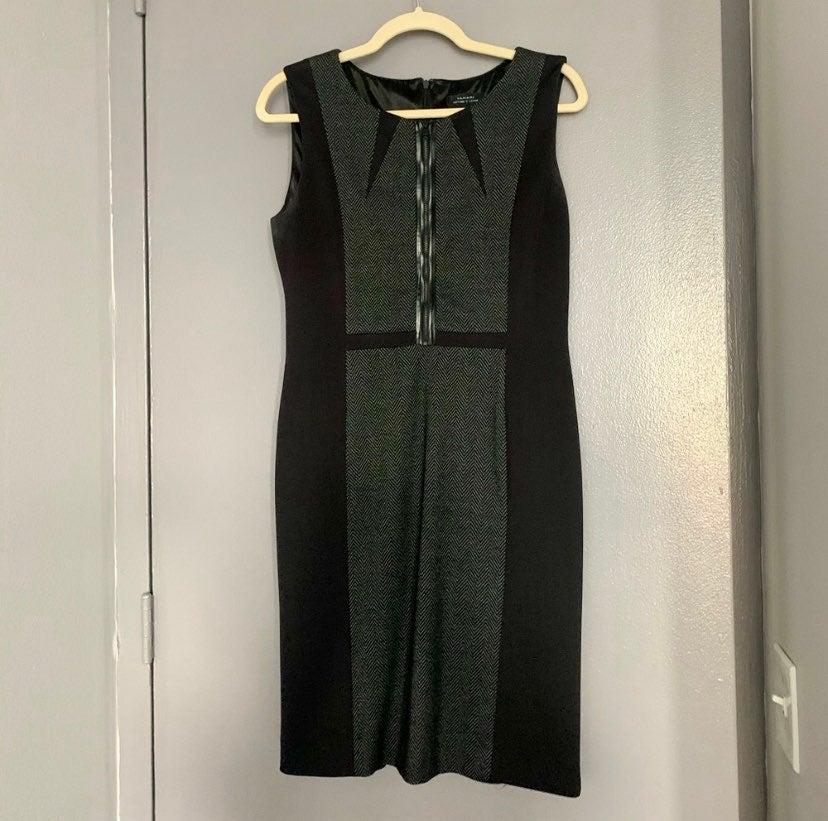 Tahari Black w/ Tweed Dress
