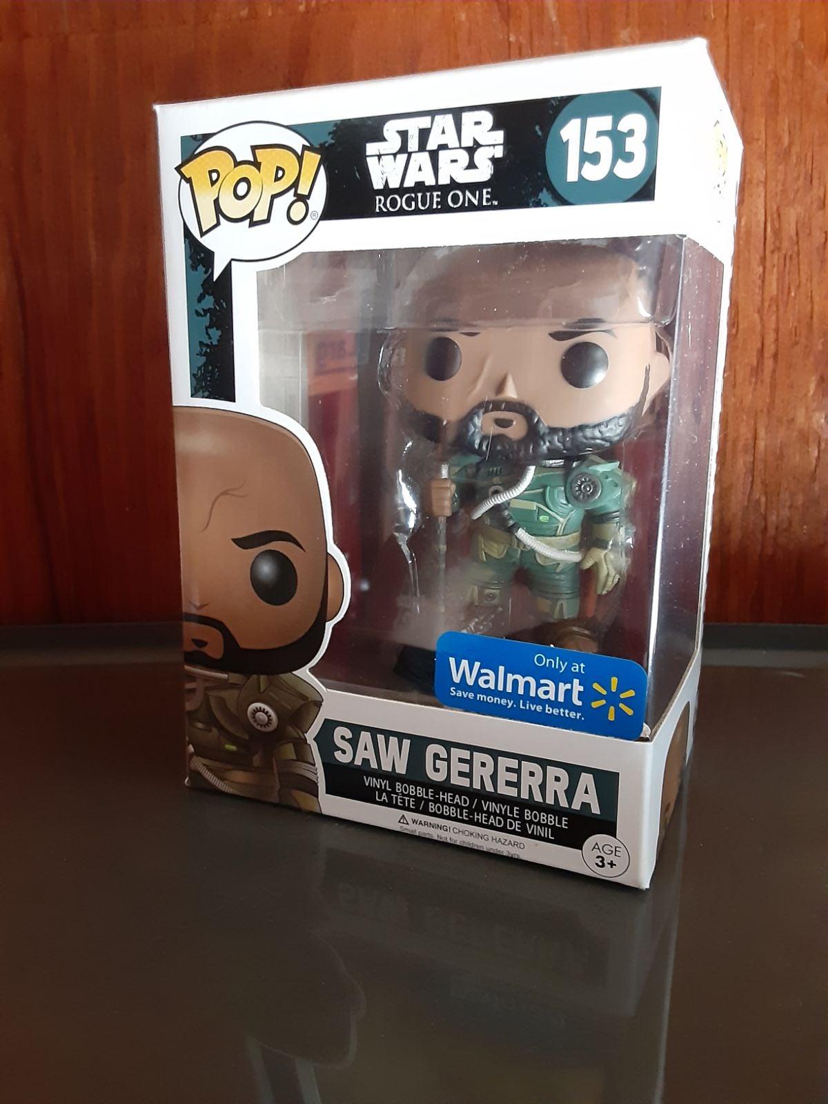 Walmart Exclusive Star Wars Saw Gerrera
