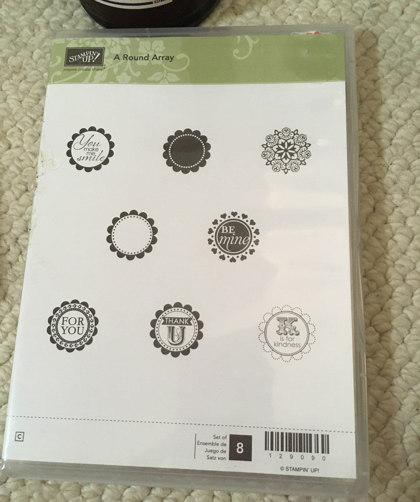 Stampin Up A Round Array