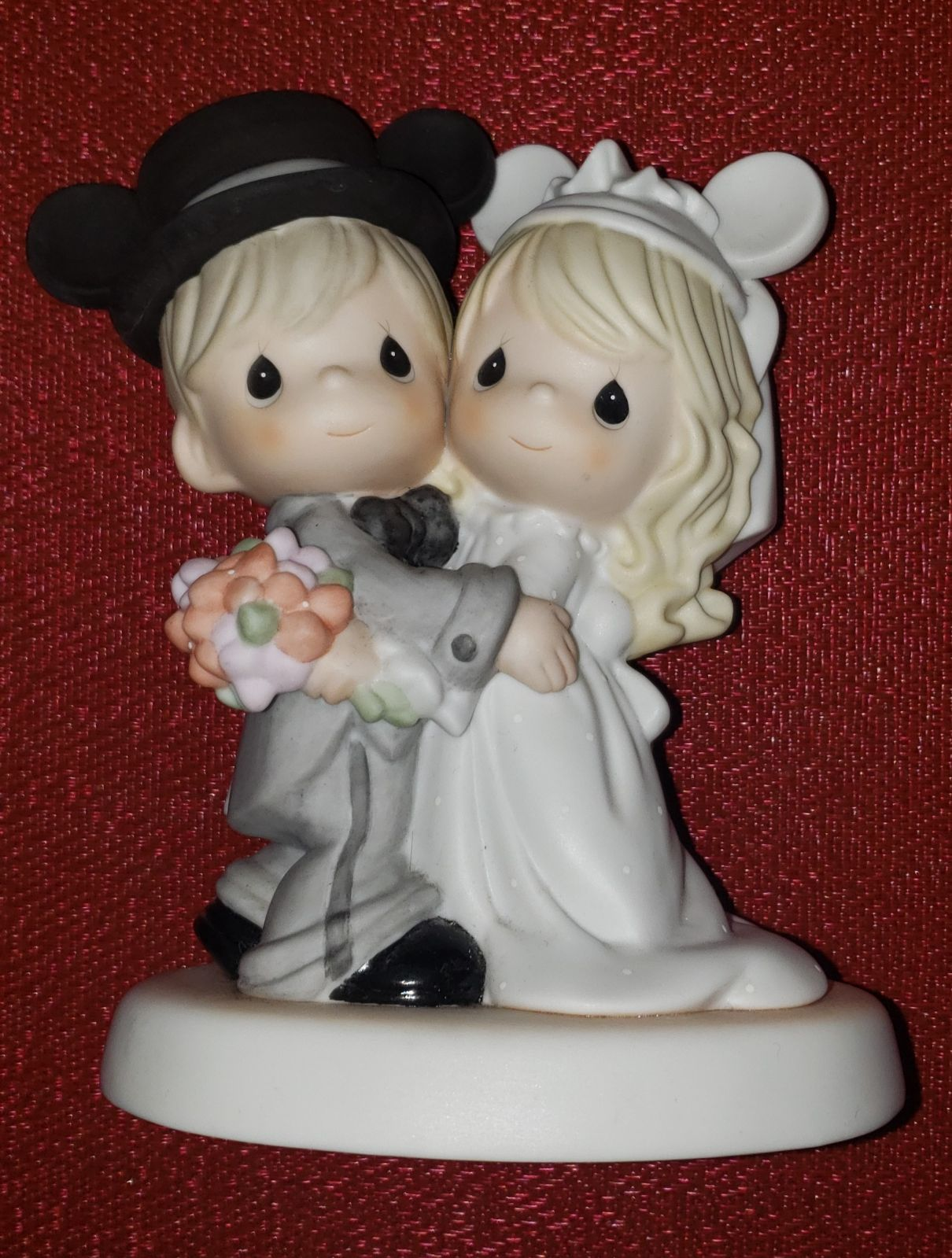 Disney Precious Moments wedding figurine