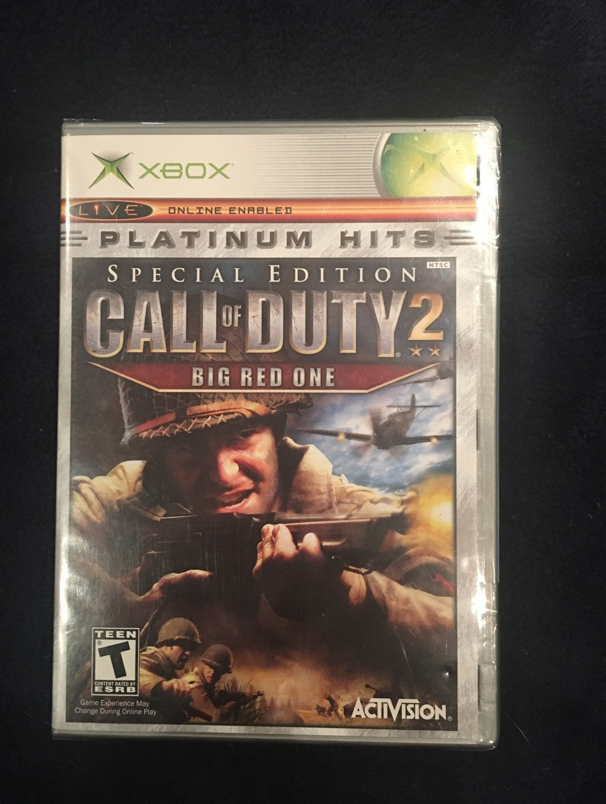 Sealed Call of Duty 2: Big Red One Xbox