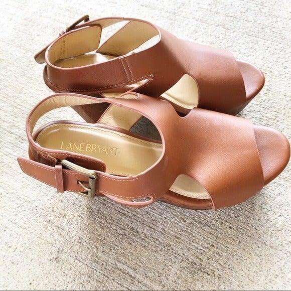 Lane Bryant Slingback Platform Sandals