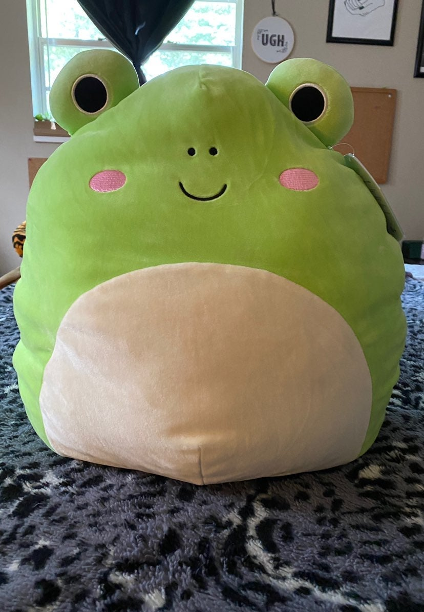 """frog squishmallow 16"""" Wendy NWT"""