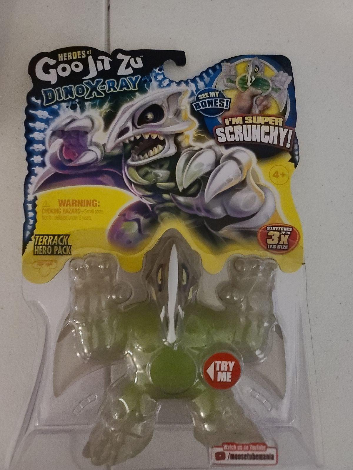 Goo Jit Zu Dino Xray Terrack