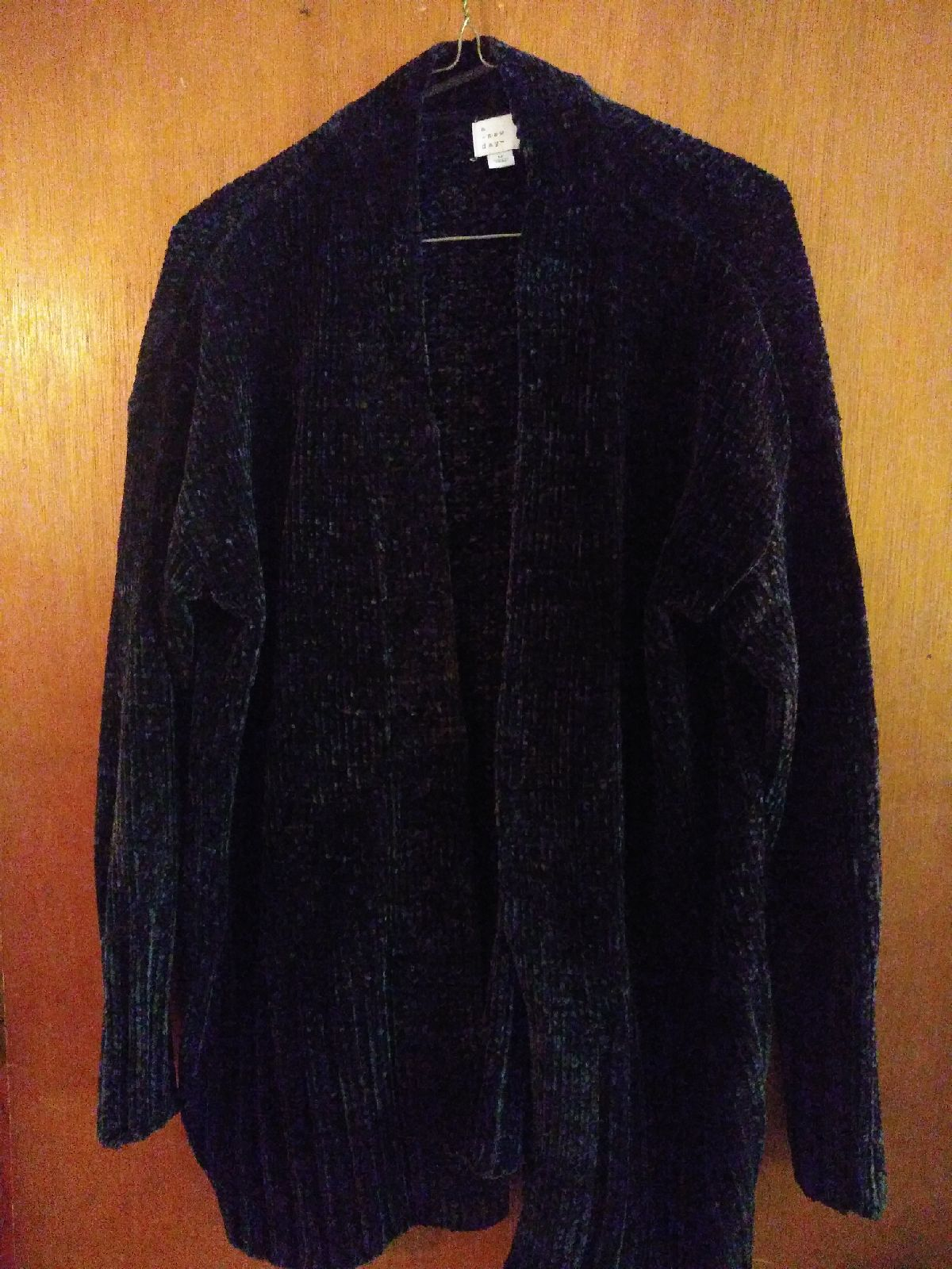Women's Black Sweater Top Size Medium