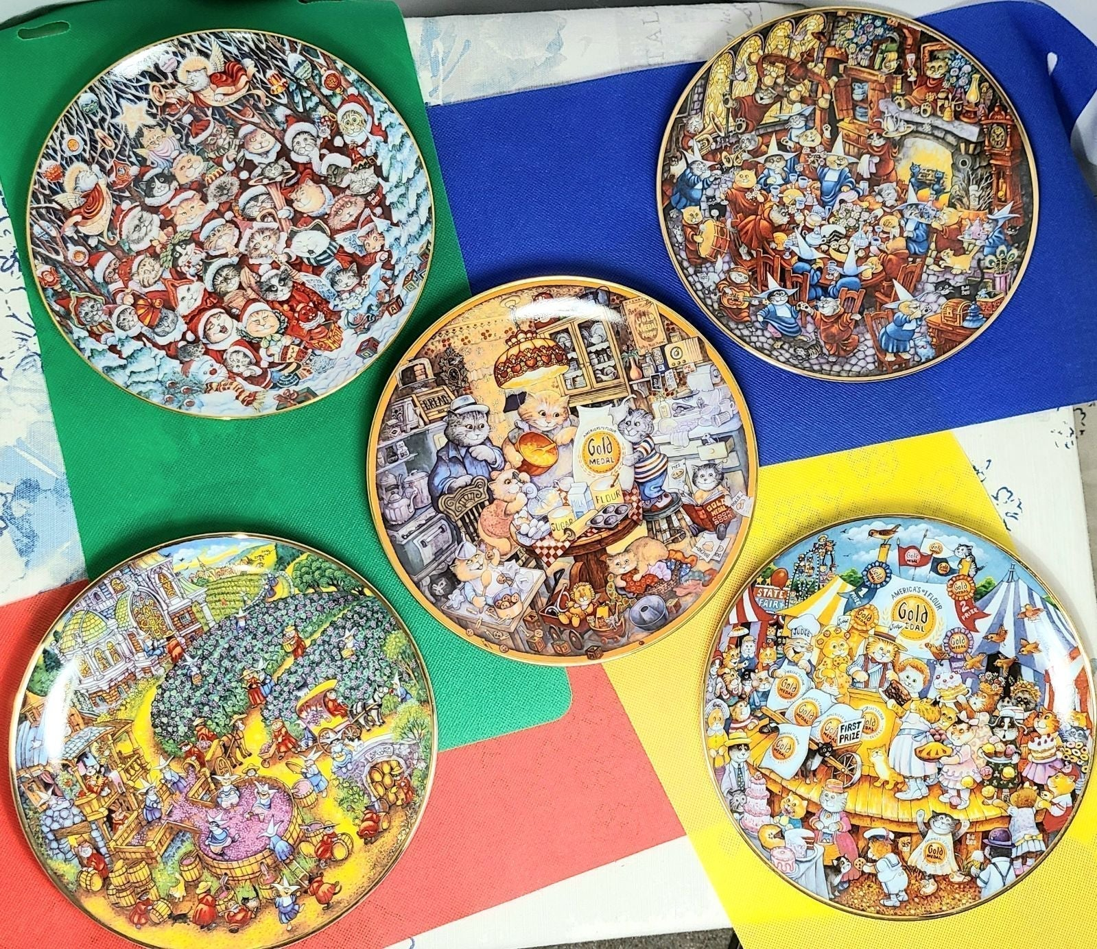 Bill Bell Plate Collection