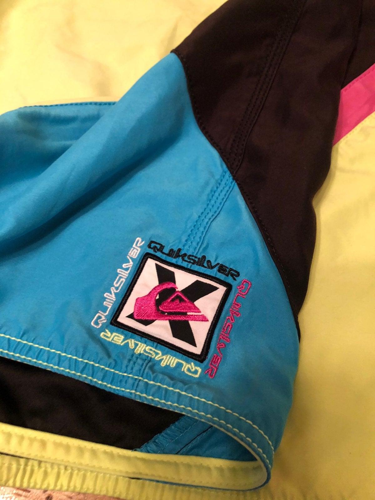 Vintage Quiksilver Board Shorts