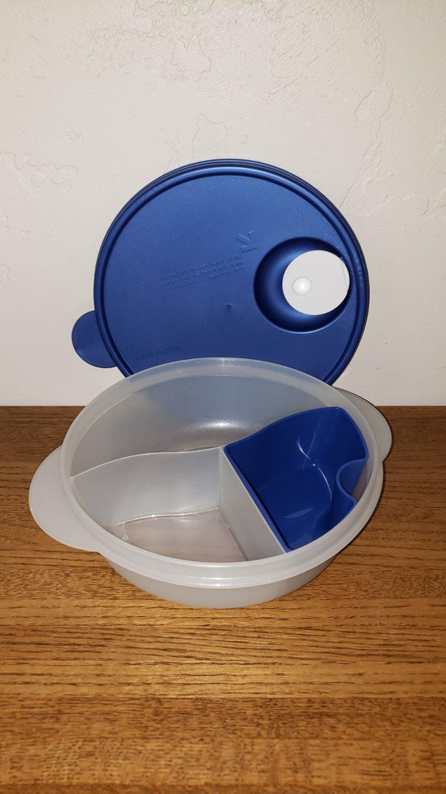 New Tupperware Crystal wave Bowl