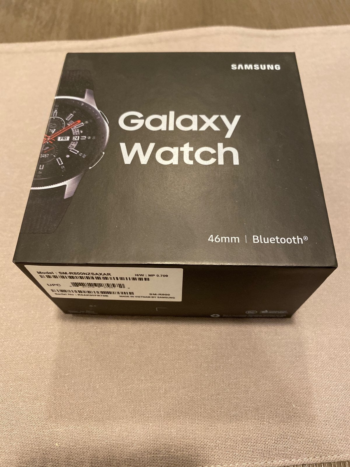 Samsung Galaxy 46mm watch