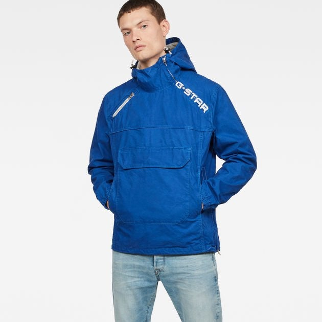 G-Star Raw Anorak Winter Jacket Blue XL