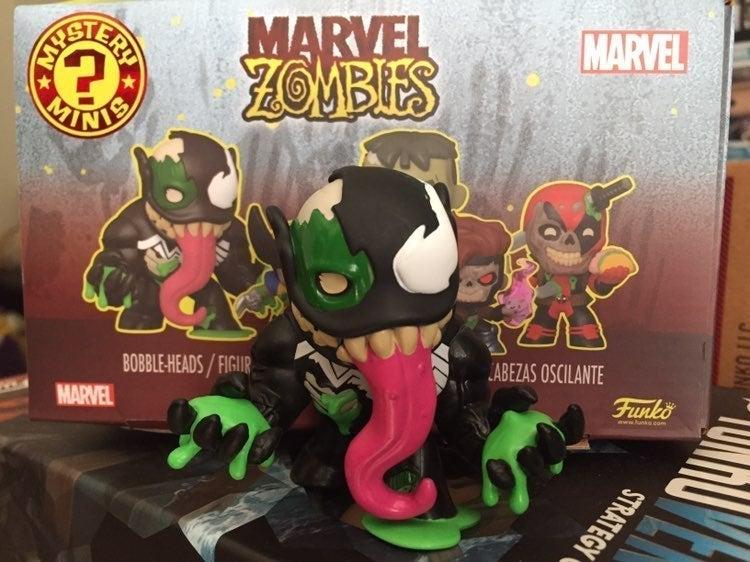 Funko Pop Mystery Minis Zombie Venom