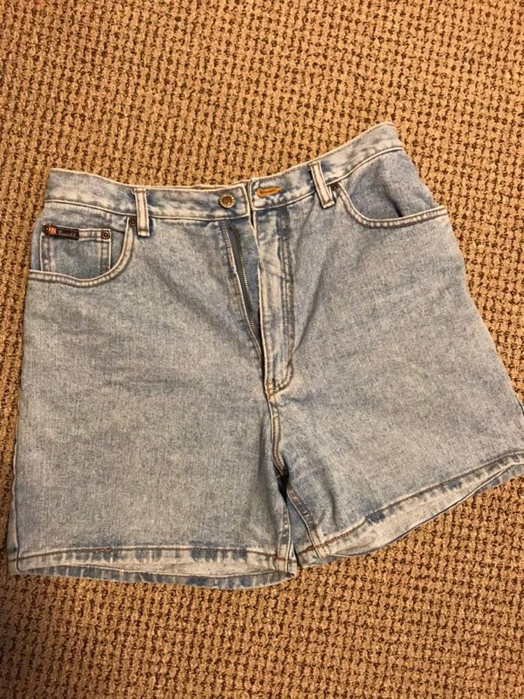 Authentic vintage Route 66 denim shorts