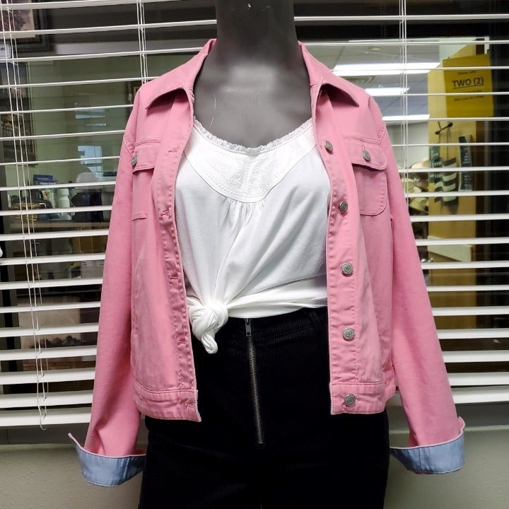 RALPH LAUREN Vintage Pink Denim Jacket