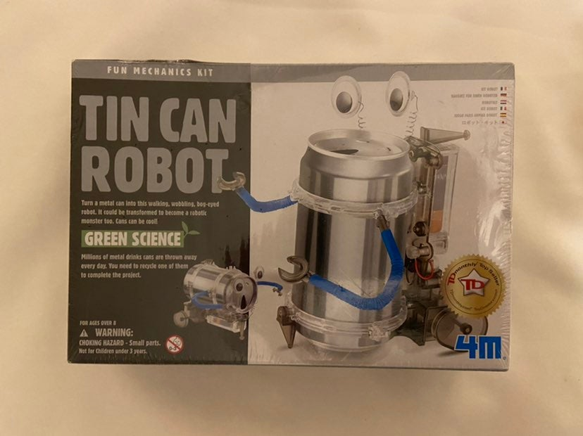 Tin Can Robot Mechanics Kit