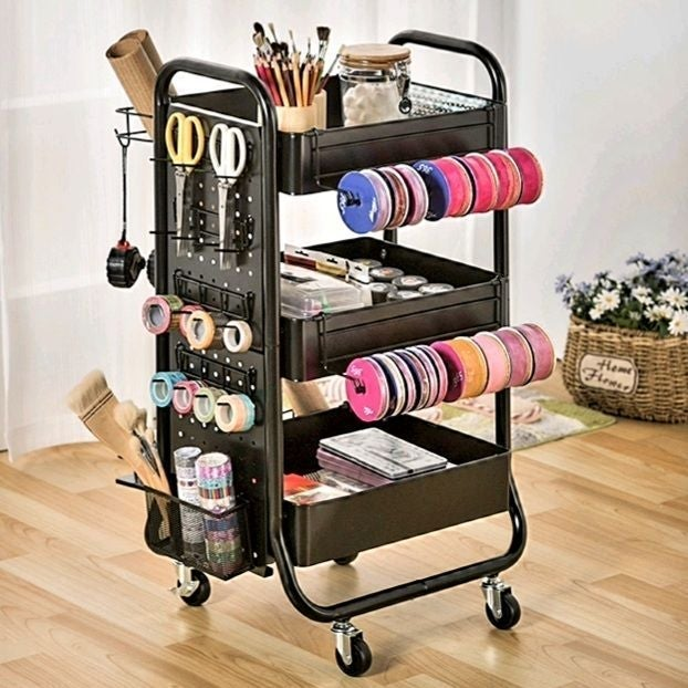 Craft Organizer Rolling cart