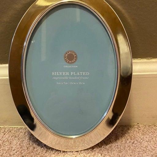 Martha Stewart Silver Plated Frame