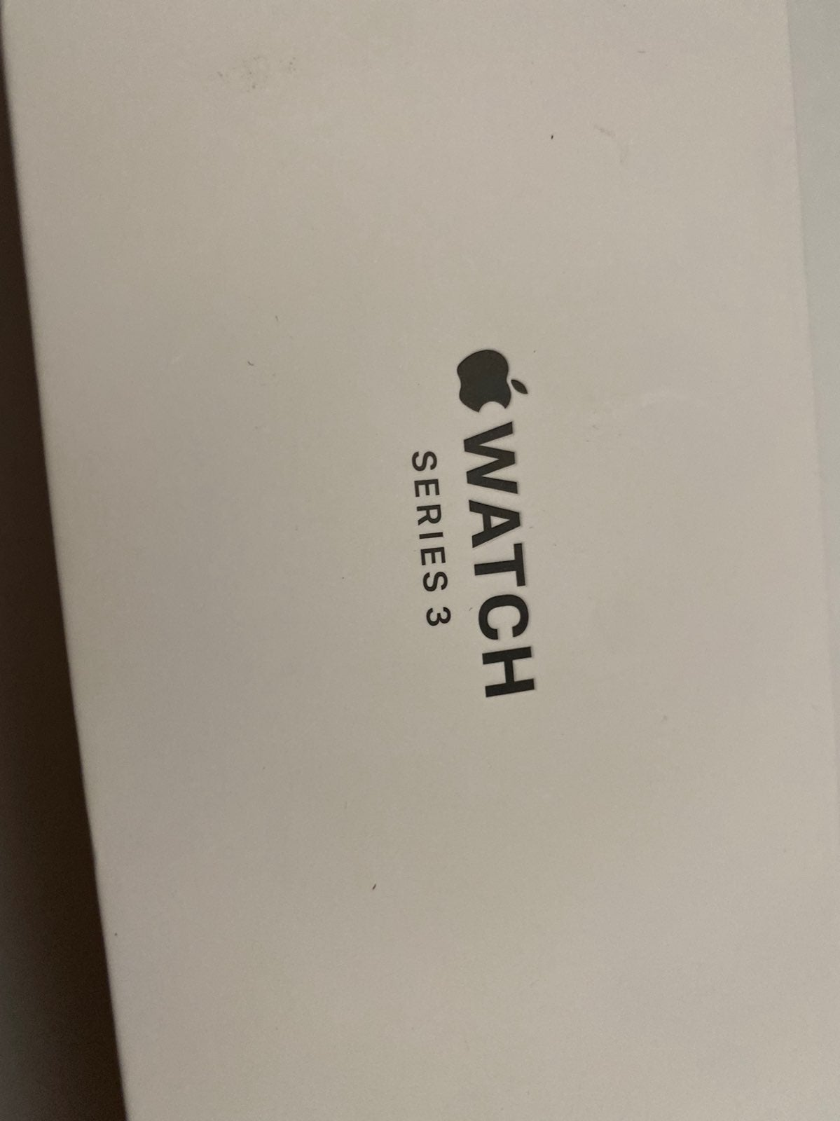Empty original apple box for watch 3 ser