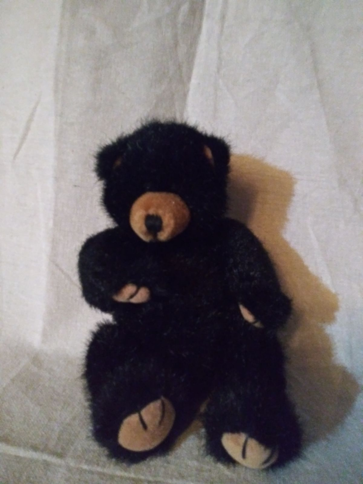 RUSS BERRIE Plush BLACKY The Black Bear