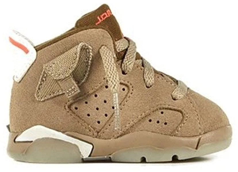 Travis scott nike AJ 6 Toddler sneakers