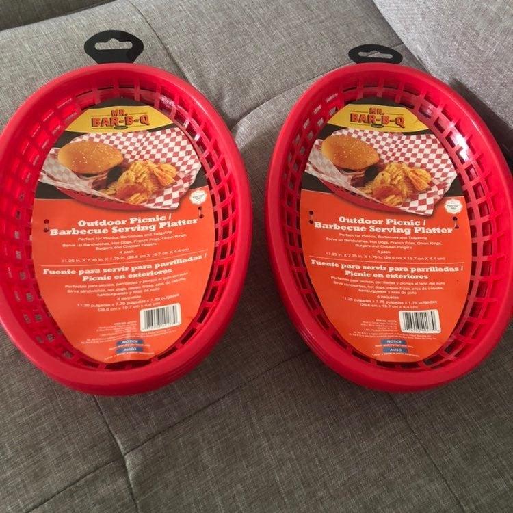 Picnic BBQ Serving Platters