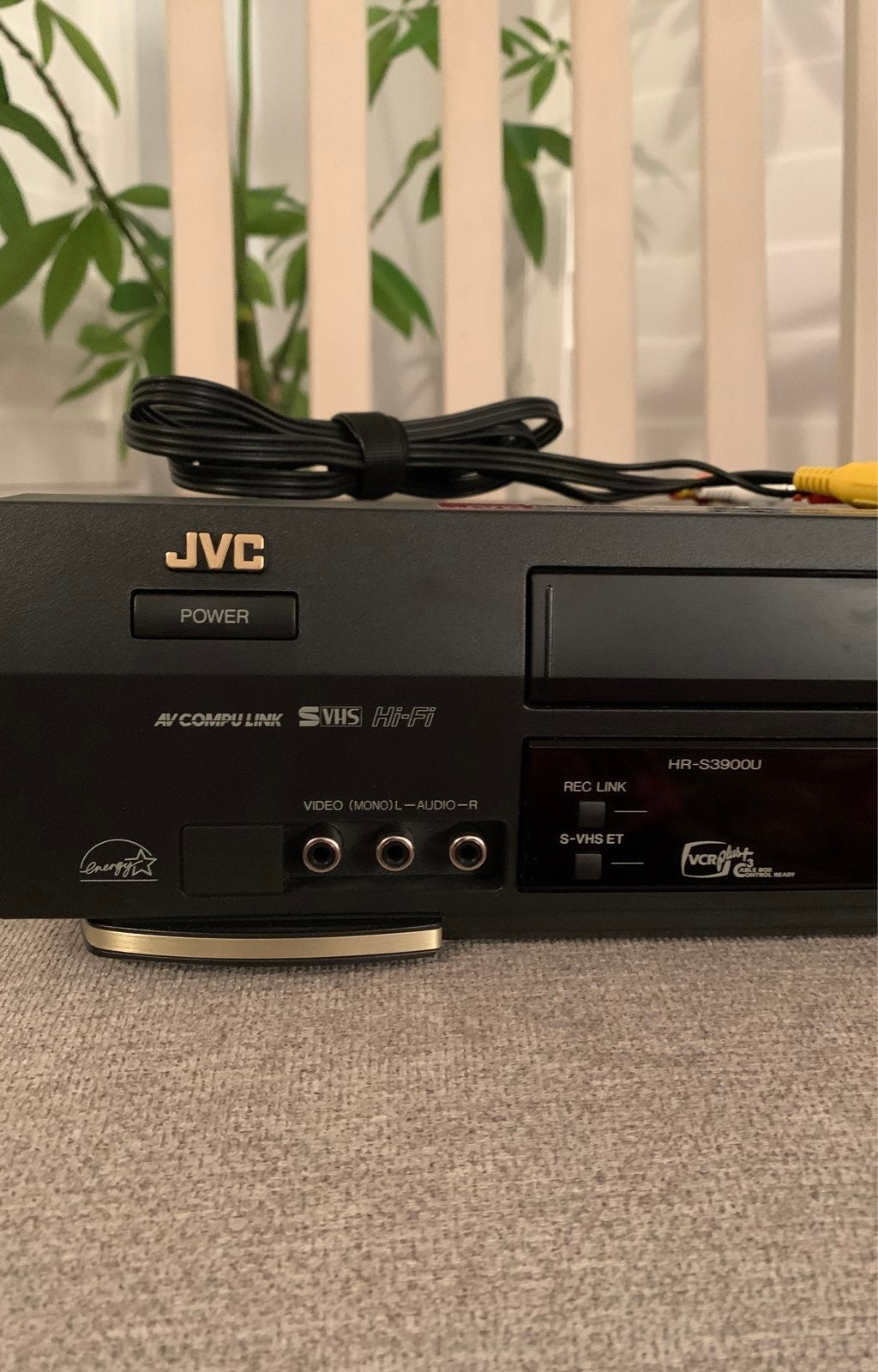 JVC SUPER VHS / VCR ET Plug & Play