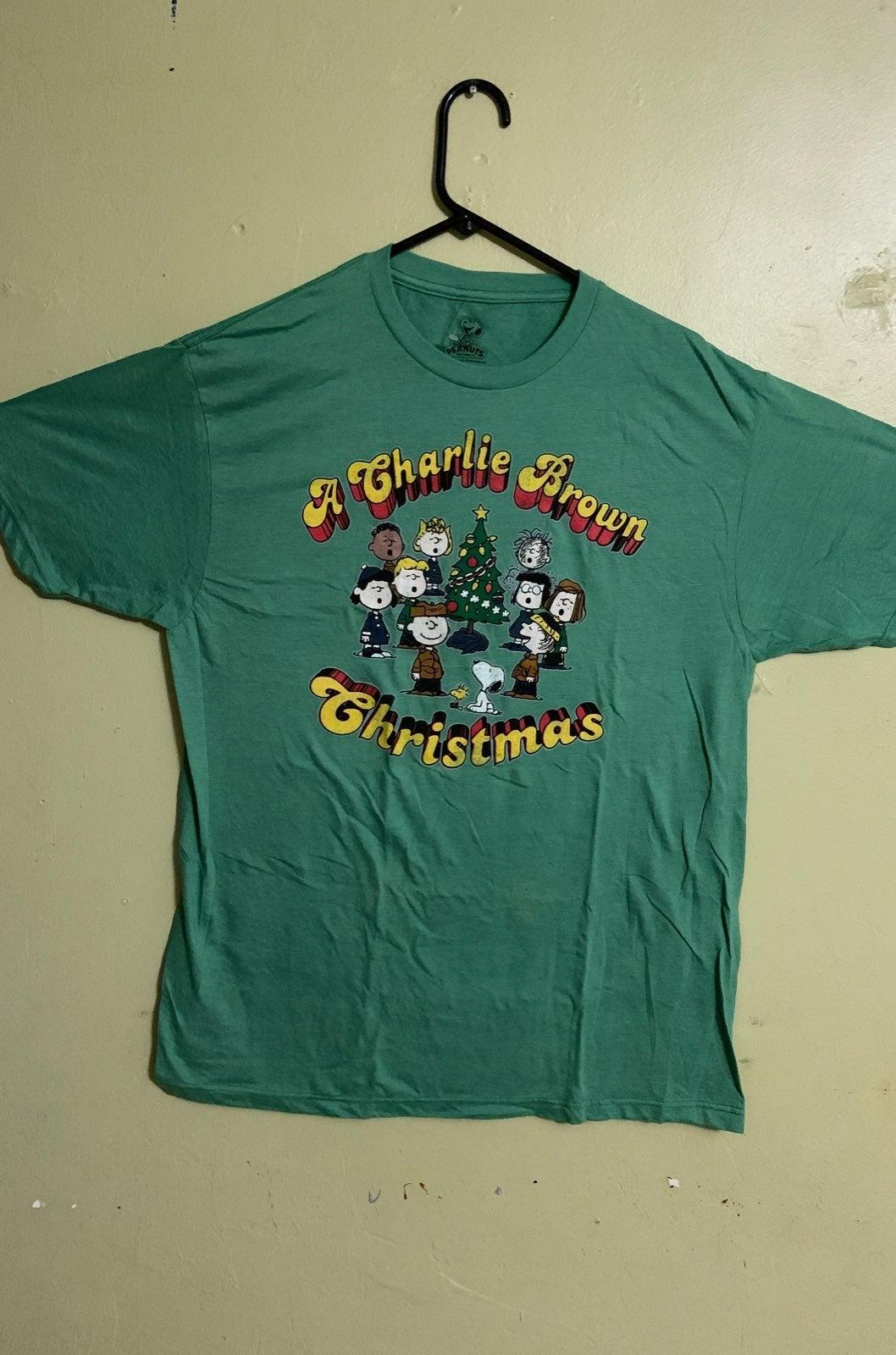 Peanuts Charlie brown Christmas shirt