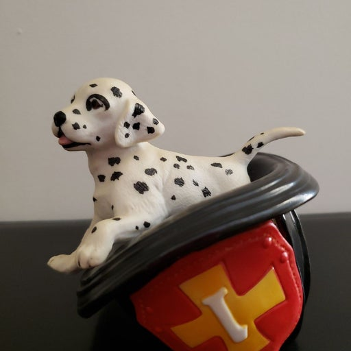 Dalmatian Fireman Hat Porcelain Lenox Pr