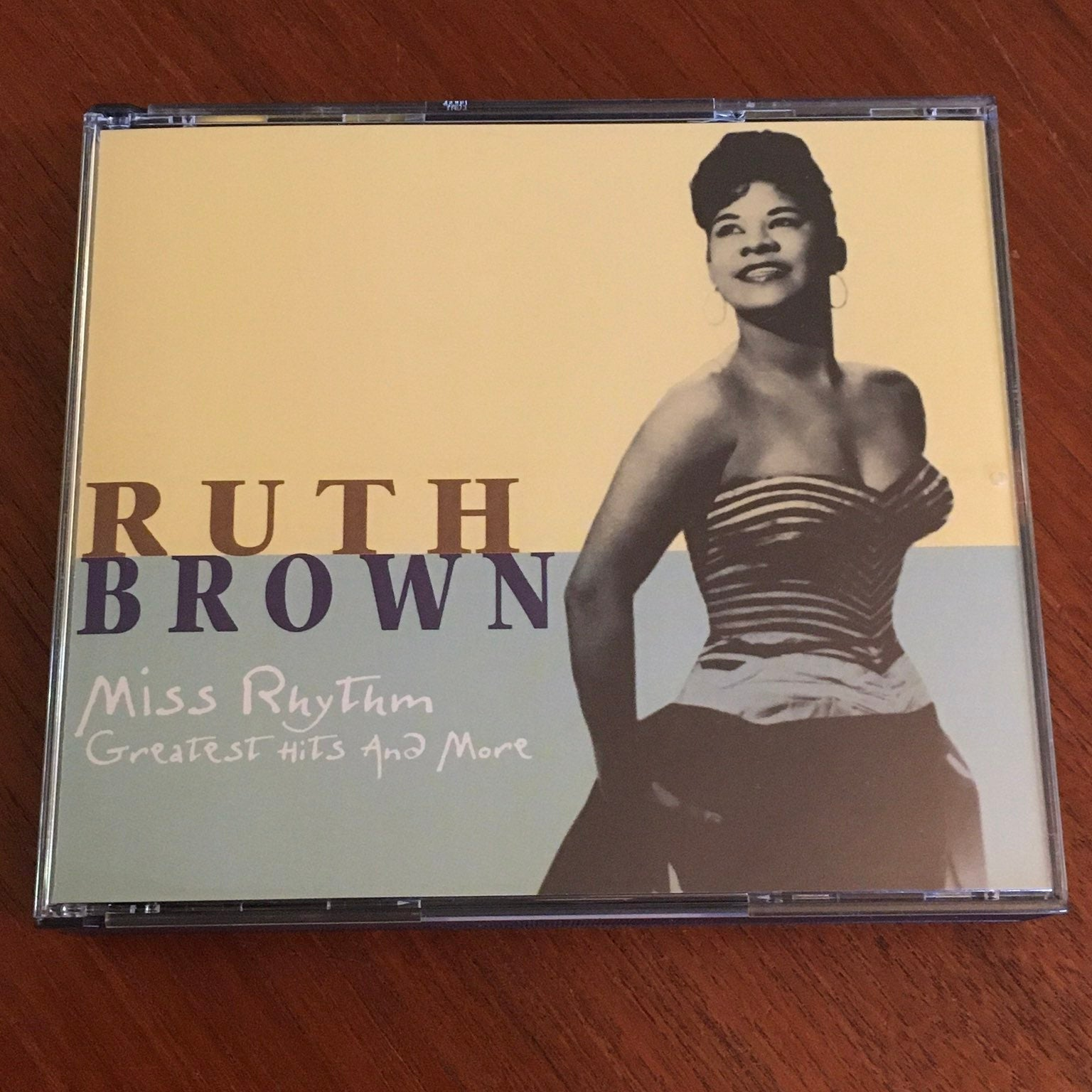 Ruth Brown Miss Rhythm 2-CD Set