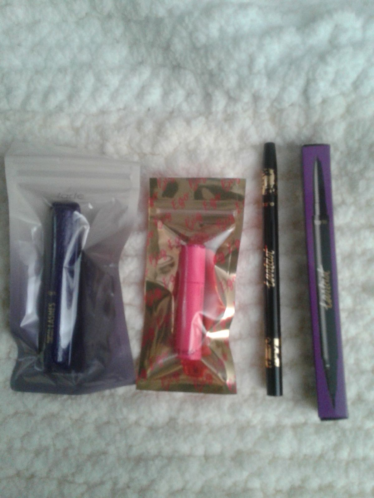 NEW TarteEyeliner& 2 travelsize Mascara