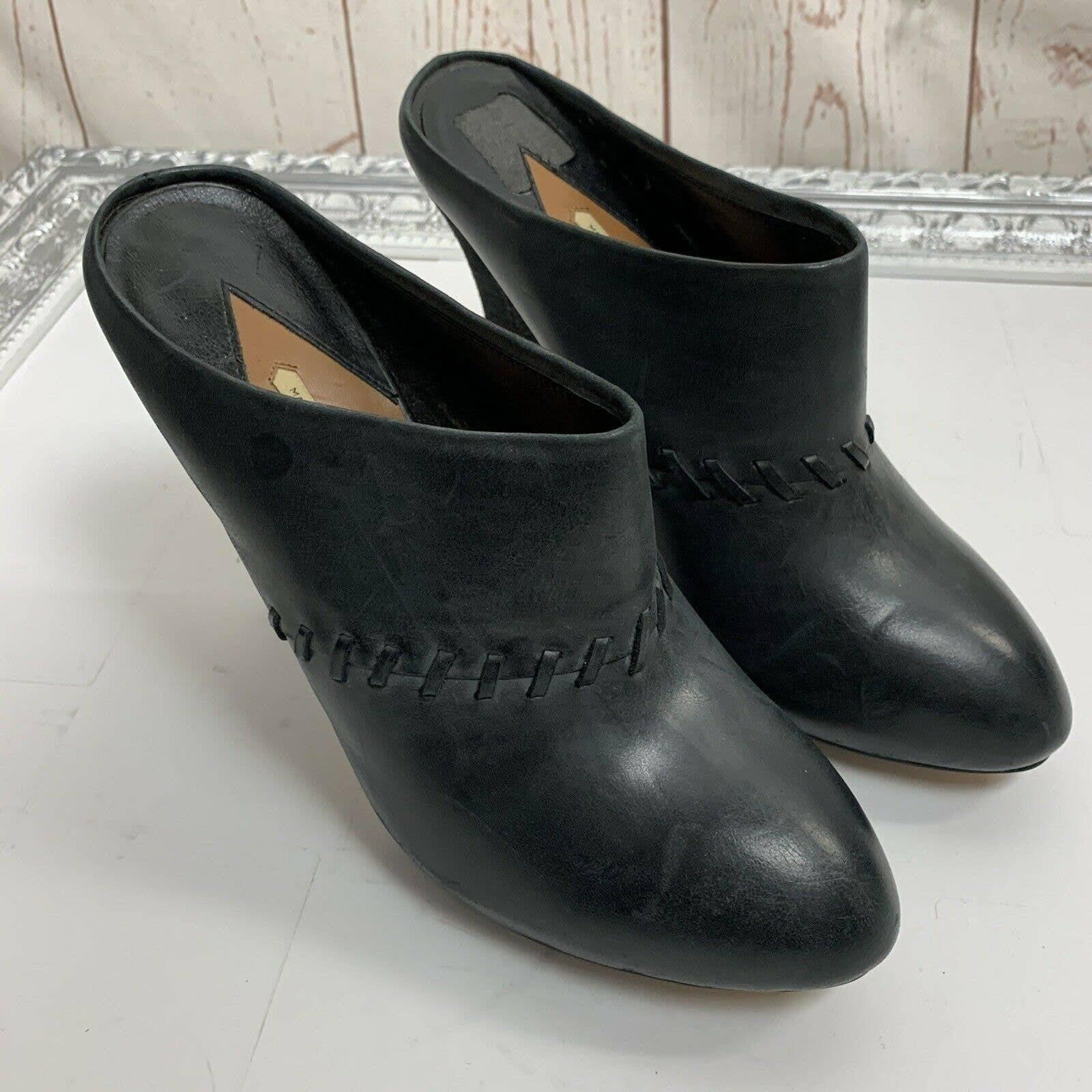 Max Studio Luna high heel mules size 9M