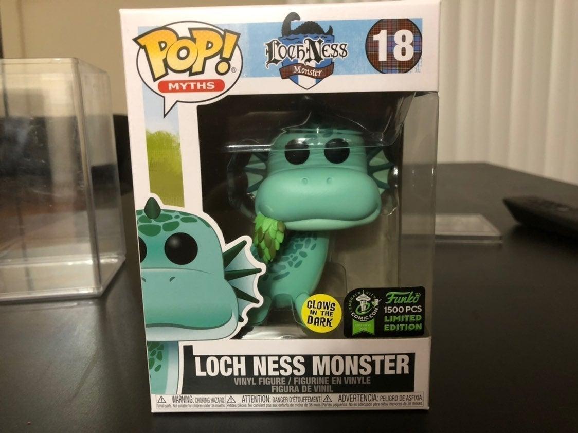 Funko glow Loch Ness Monster 1500 pieces