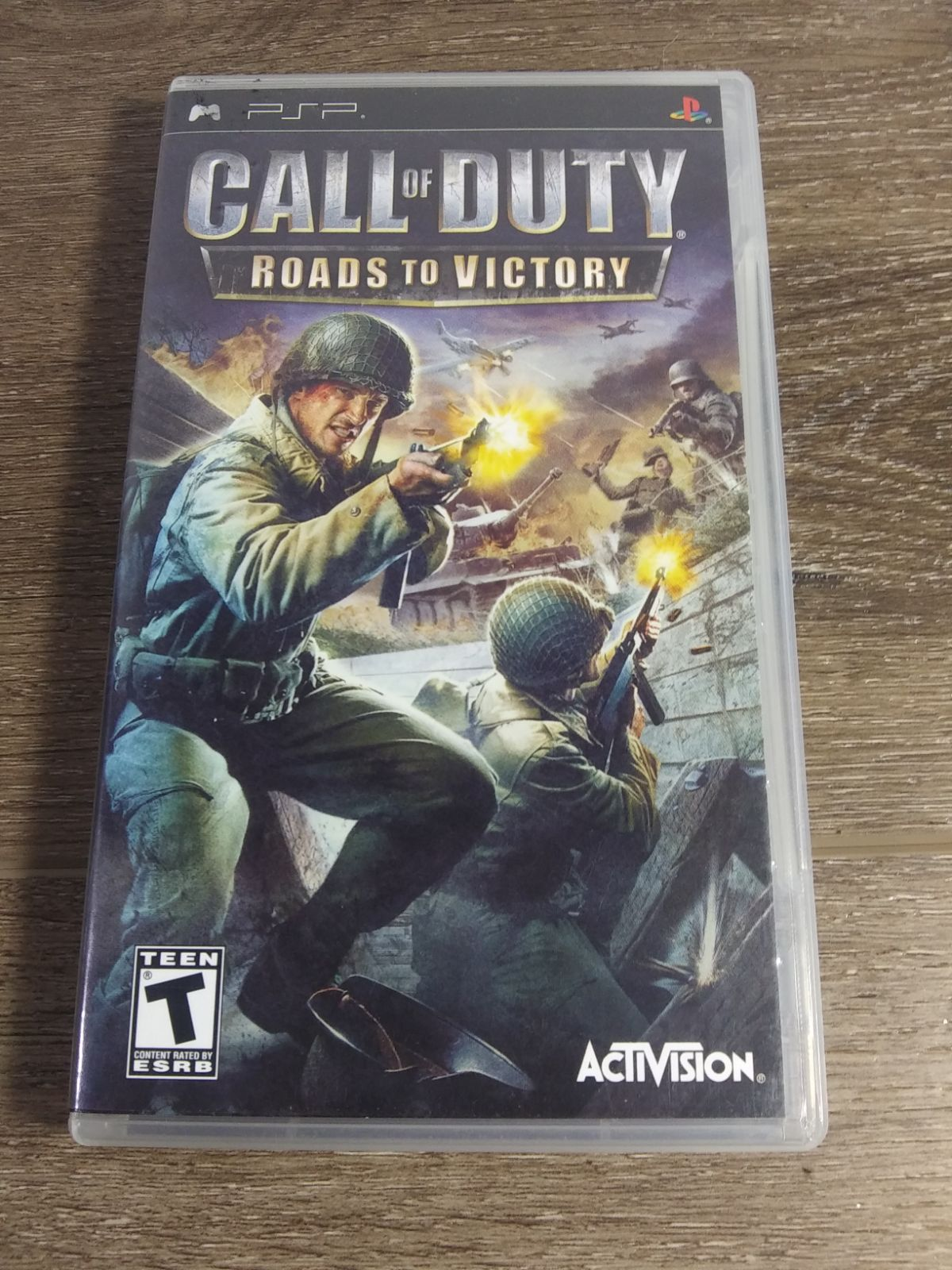 Call of Duty Roads to Victory-PSP