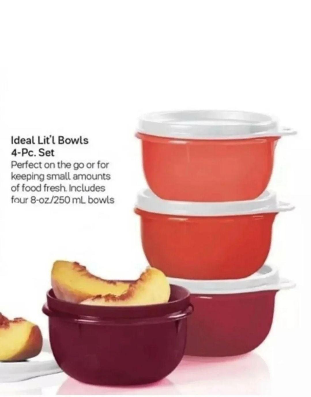 Tupperware Ideal Little bowls Shades
