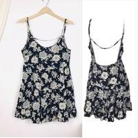 40ba8b25c4 Brandy Melville Black Boho Floral Dress