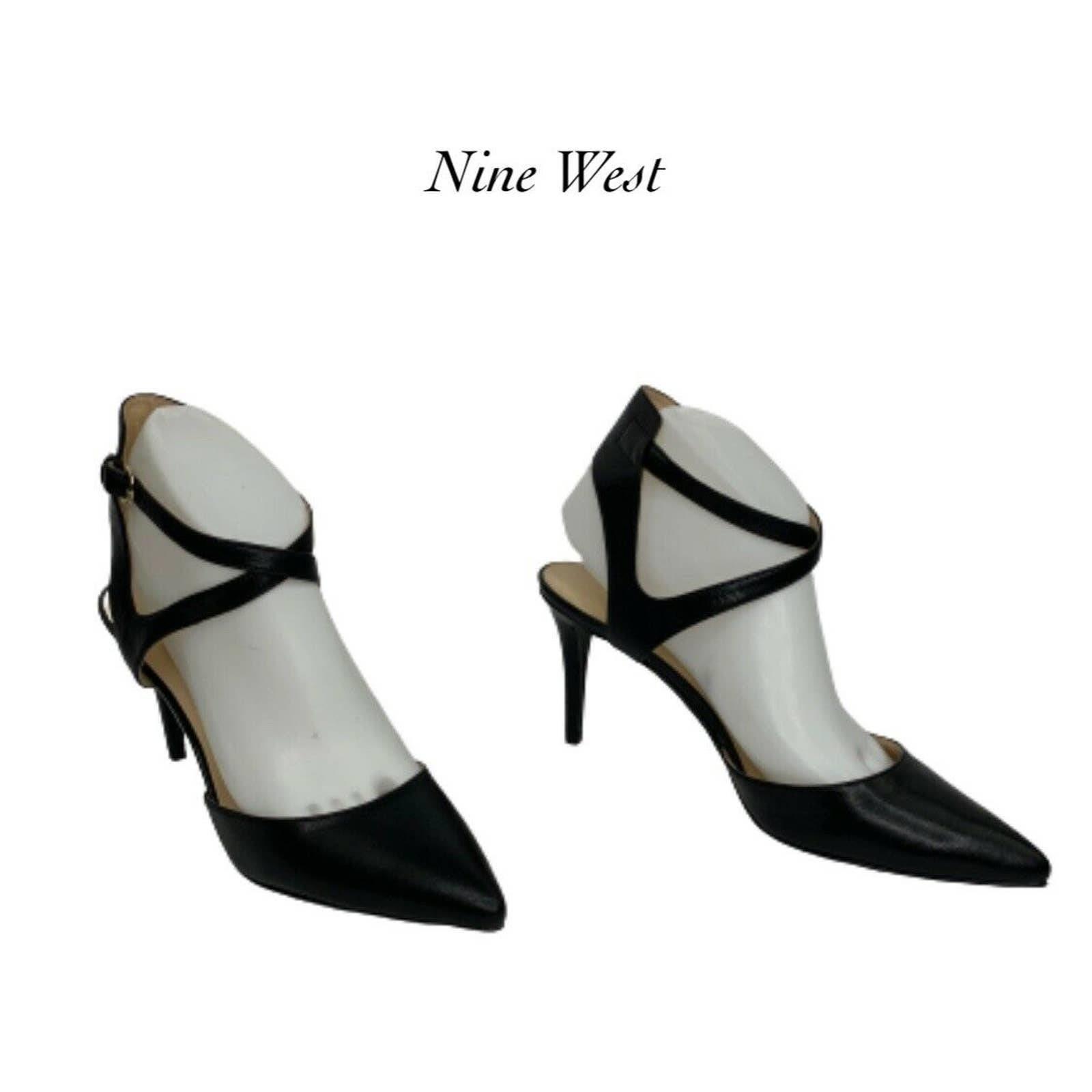 Nine West Paddy's Day Strap Heels Size 7